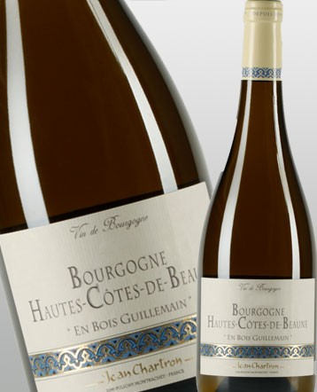Bourgogne Hautes Cotes de Beaune Bois Guillemain blanc 2015 - domaine Jean Chartron