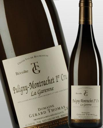 Puligny-Montrachet 1er Cru La Garenne blanc 2018 - domaine Gérard Thomas