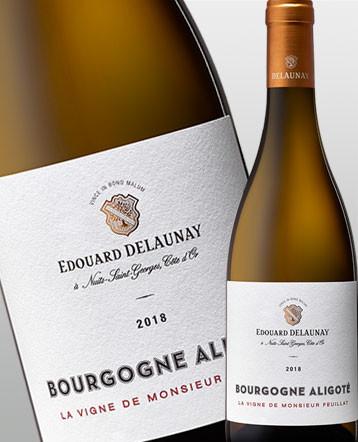 Bourgogne Aligoté blanc 2018 - Edouard Delaunay
