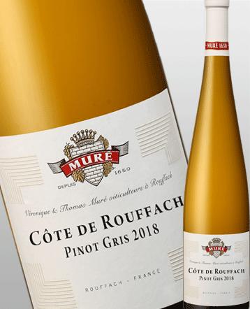 Côte de Rouffach Pinot Gris blanc Bio 2018 - Domaine Muré