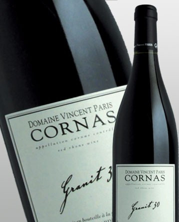 Cornas Granit 30 rouge 2018 - Domaine Vincent Paris