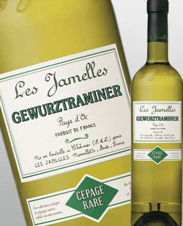 Gewurztraminer blanc 2017 - Les Jamelles