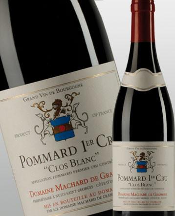 Pommard 1er Cru Clos blanc rouge 2017 - Domaine Machard de Gramont