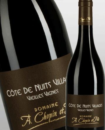 Côte de Nuits Villages Vieilles Vignes rouge 2017 - Domaine Chopin