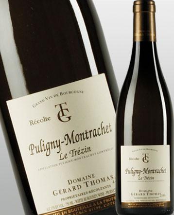 Puligny-Montrachet Le Trézin blanc 2018 - domaine Gérard Thomas