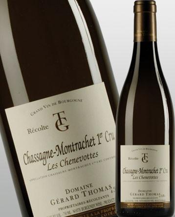 Chassagne-Montrachet 1er Cru Les Chenevottes blanc 2018 - domaine Gérard Thomas