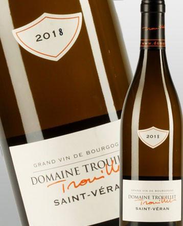 Saint Véran blanc 2018 - Domaine Trouillet