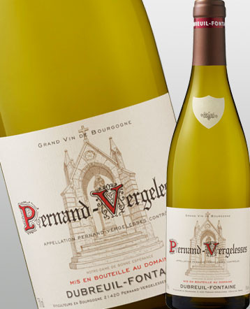 Pernand Vergelesses blanc 2018 - Domaine Dubreuil Fontaine
