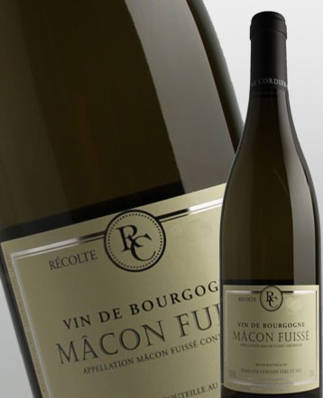 Macon Fuisse blanc 2018 - Domaine Cordier