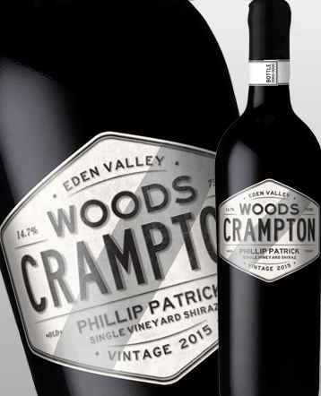 Shiraz Phillip Patrick Eden Valley rouge 2015 - Woods Crampton