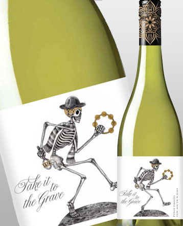 Pinot Grigio blanc 2019 - Take it to the Grave / Australie