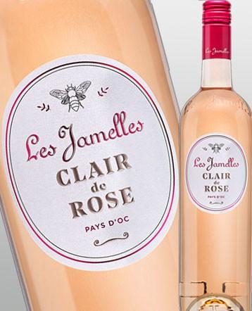 Clair de Rose rosé 2019 - Les Jamelles