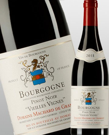 Bourgogne Pinot Noir Vieilles Vignes rouge 2018