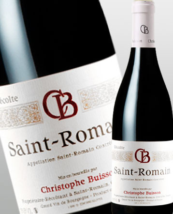 St Romain rouge 2018 - domaine Christophe Buisson