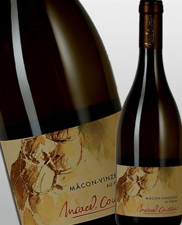 """Macon Vinzelles """"Au Corlier"""" blanc 2017 - Domaine Marcel Couturier"""