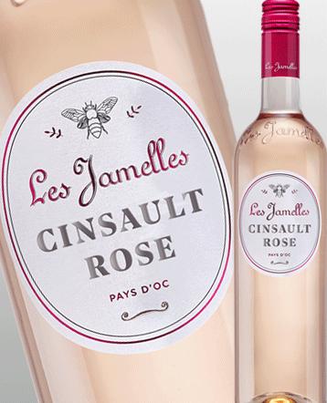 Cinsault rosé 2019 - Les Jamelles