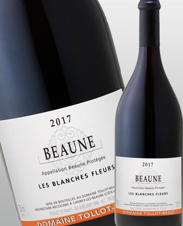 Beaune Les Blanches Fleurs rouge 2018 - domaine Tollot Beaut