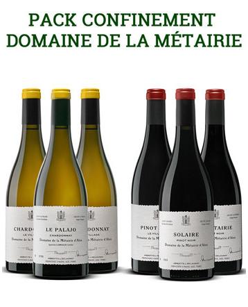 Pack - Confinement - Domaine de la Métairie d'Alon