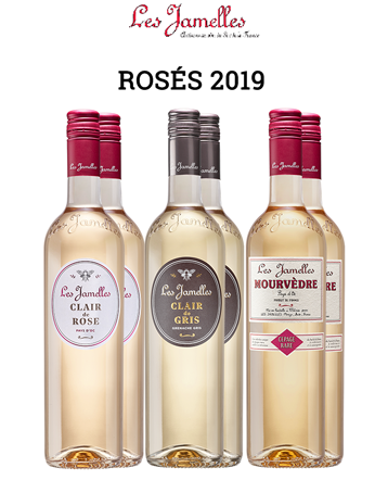 Carton Panaché Rosés 2019 - Les Jamelles