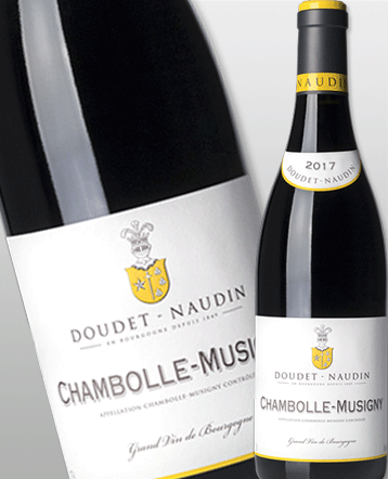 Chambolle-Musigny rouge 2017 - Doudet-Naudin