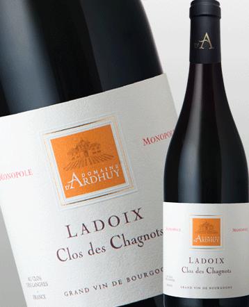 Ladoix Clos des Chagnots Monopole rouge 2018 - Domaine d'Ardhuy