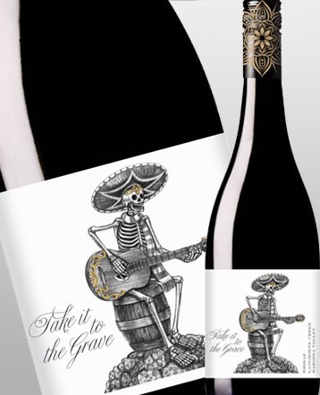 Syrah rouge 2018 - Take it to the grave / Australie