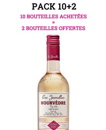 """Pack """"10+2"""" - Mourvèdre Rosé 2019 - Les Jamelles"""
