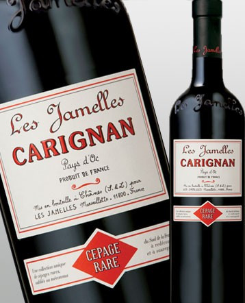 Carignan rouge 2018 - Les Jamelles