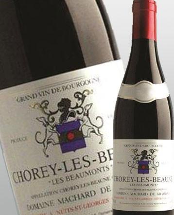 """Chorey les Beaune """"Les Beaumonts"""" rouge 2018 - Domaine Machard de Gramont"""