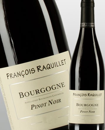 Bourgogne Pinot Noir rouge 2018 - Domaine François Raquillet