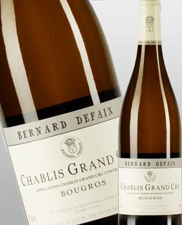 "Chablis Grand Cru ""Bougros"" blanc 2018 - Domaine Bernard Defaix"