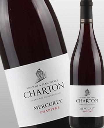 Mercurey Clos du Chapitre rouge 2017 - Domaine Charton