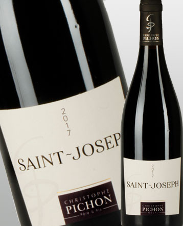 Saint Joseph rouge 2017 - Maison Christophe Pichon