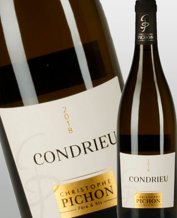 Condrieu blanc 2018 - Domaine Christophe Pichon