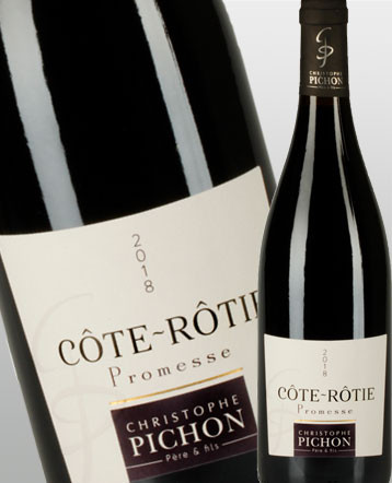 Cote Rôtie Promesse rouge 2018 - Maison Christophe Pichon