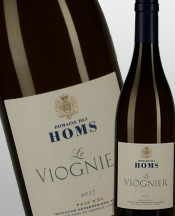 IGP Oc Viognier blanc 2018 - domaine des Homs