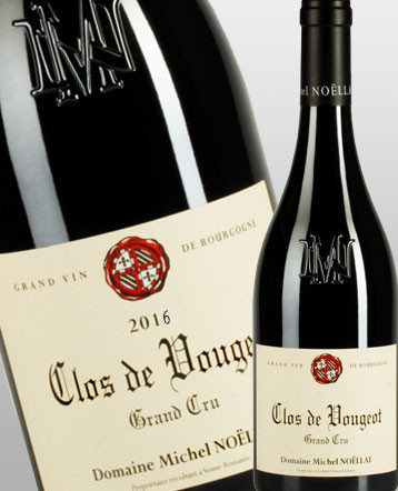 Clos de Vougeot Grand Cru rouge 2017 - Domaine Michel Noellat