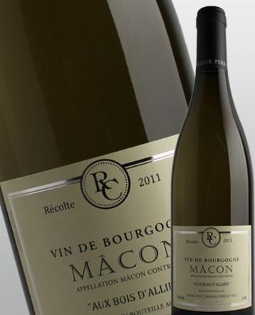 Macon Bois d'Allier blanc 2018 - domaine Cordier