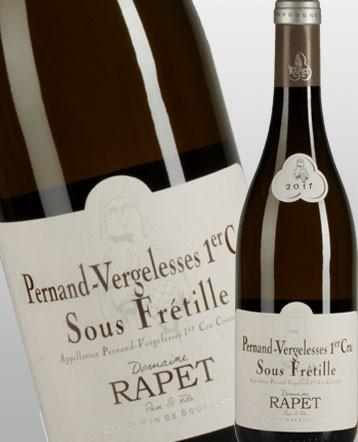 Pernand-Vergelesses 1er Cru Sous Frétille blanc 2018 - Domaine Rapet