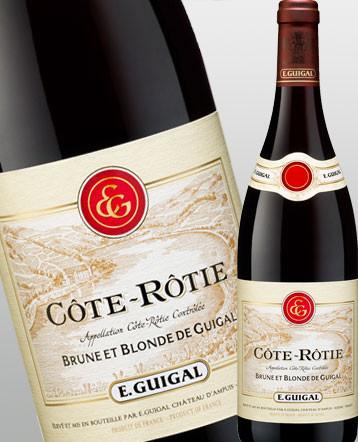 Côte-Rôtie Brune et Blonde rouge 2017 Maison Guigal