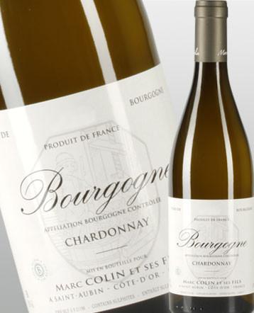 Bourgogne Chardonnay blanc 2016 - Domaine Marc Colin