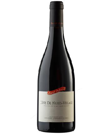Côtes de Nuits Villages rouge 2017 - David Duband