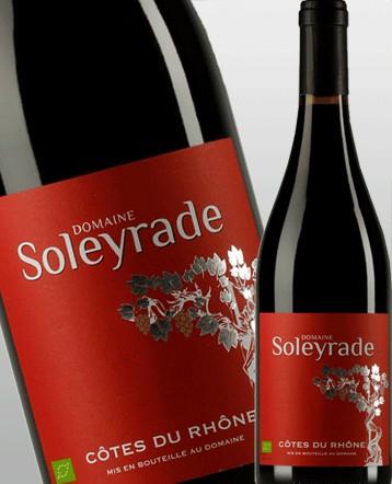 Côtes du Rhône Bio rouge 2018 - Domaine Soleyrade