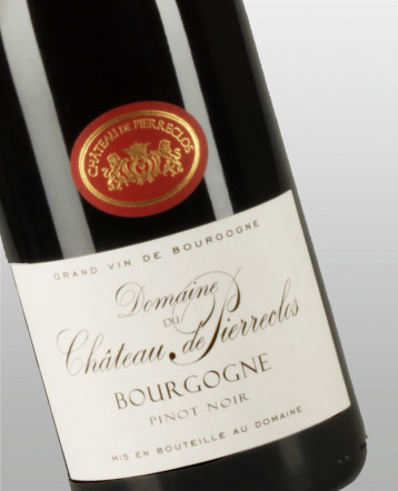 Bourgogne Pinot Noir Bio rouge 2018 - Château de Pierreclos