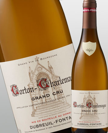 Corton-Charlemagne Grand Cru 2019 - Domaine Dubreuil-Fontaine