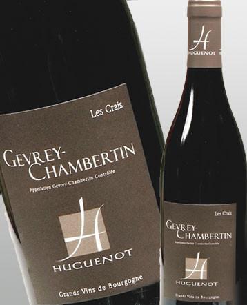 Gevrey Chambertin Les Crais rouge 2018 - Domaine Huguenot