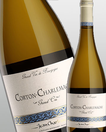 Corton Charlemagne Grand Cru blanc 2013 - domaine Jean Chartron