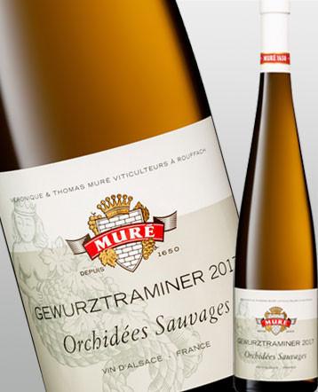 """Gewurztraminer """"Orchidées Sauvages"""" blanc Bio 2018 - Domaine Muré"""