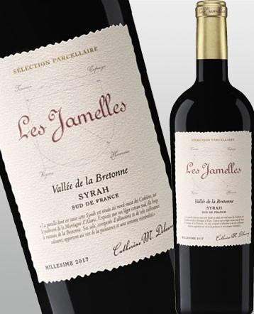 """Syrah """"Vallée de la Bretonne"""" rouge 2018 - Les Jamelles """"Sélection Parcellaire"""""""