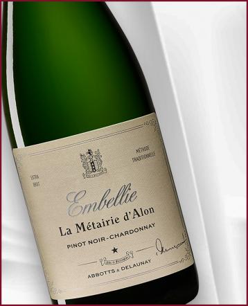 """""""L'Embellie"""" Méthode Traditionnelle Pinot Noir - Chardonnay - Domaine de la Métairie d'Alon"""